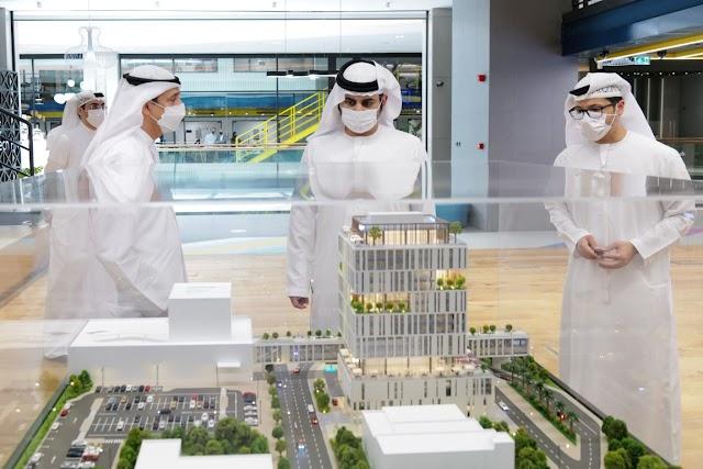 Sheikh Maktoum opens DIFC Innovation Hub in the new Dubai Future District