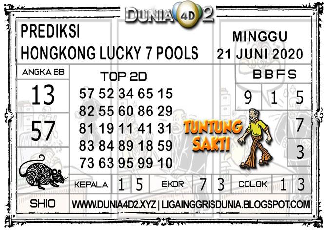 Prediksi Togel HONGKONG LUCKY7 DUNIA4D2 21 JUNI 2020
