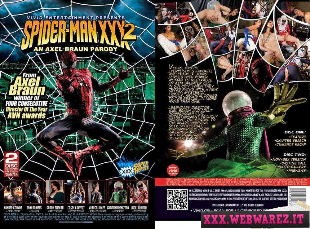 [18+]  Spider-Man XXX 2: An Axel Braun Parody (2014) HD