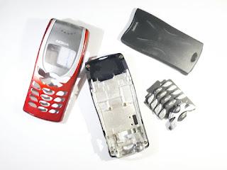 Casing Nokia 8250 Fullset Plus Keypad Tulang