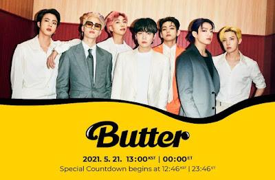Download lagu BTS Butter