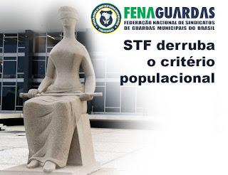 Vitória no STF:  Corte derruba critério populacional para porte de armas das Guardas Municipais