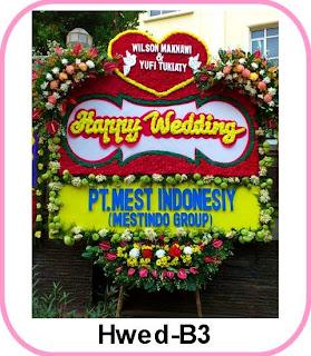Bunga Ucapan Pernikahan