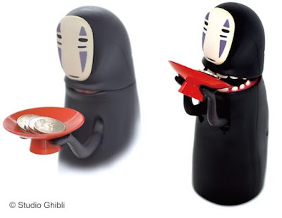 No-Face Coin Bank