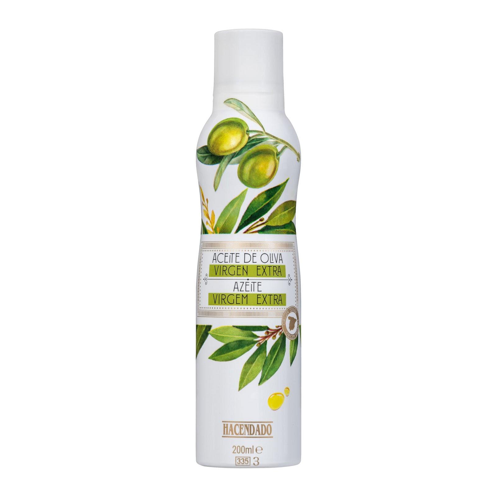 Spray de aceite de oliva virgen extra Hacendado
