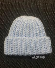 newborn crochet hat pattern free
