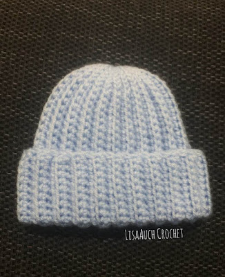 newborn crochet hat pattern free