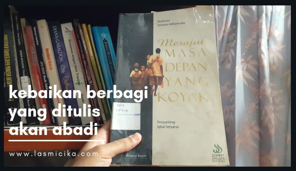 buku tentang kebaikan berbagi