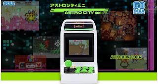 SEGA Astro City Mini kommt Ende Dezember | Ein epischer Arcade Original Nachbau für den Schreibtisch
