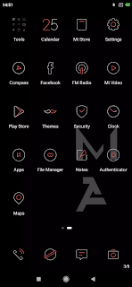 Black theme for Miui
