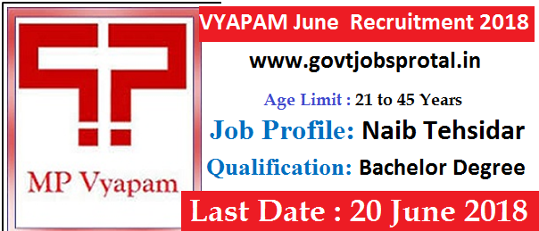vyapam vacancy