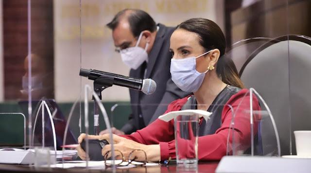 Personal de funerarias también debe ser prioridad en la aplicación de vacunas: Nancy de la Sierra.