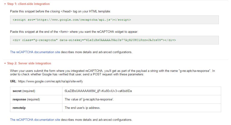 Google reCAPTCHA using HttpClient in ASP NET