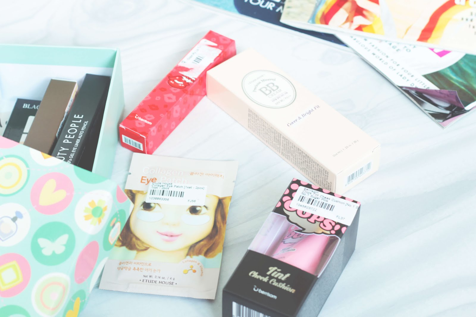 YesStyle Top 10 Blogger sample box review