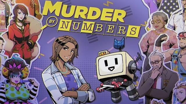 Murder by Numbers (Switch) será lançado no dia 5 de março