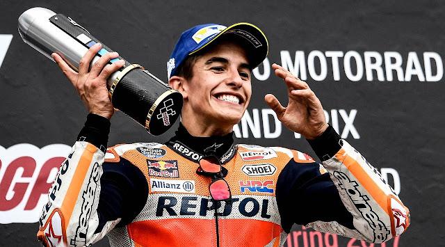 MotoGP: 3 Teknik Balap Terkenal Khas Marc Marquez