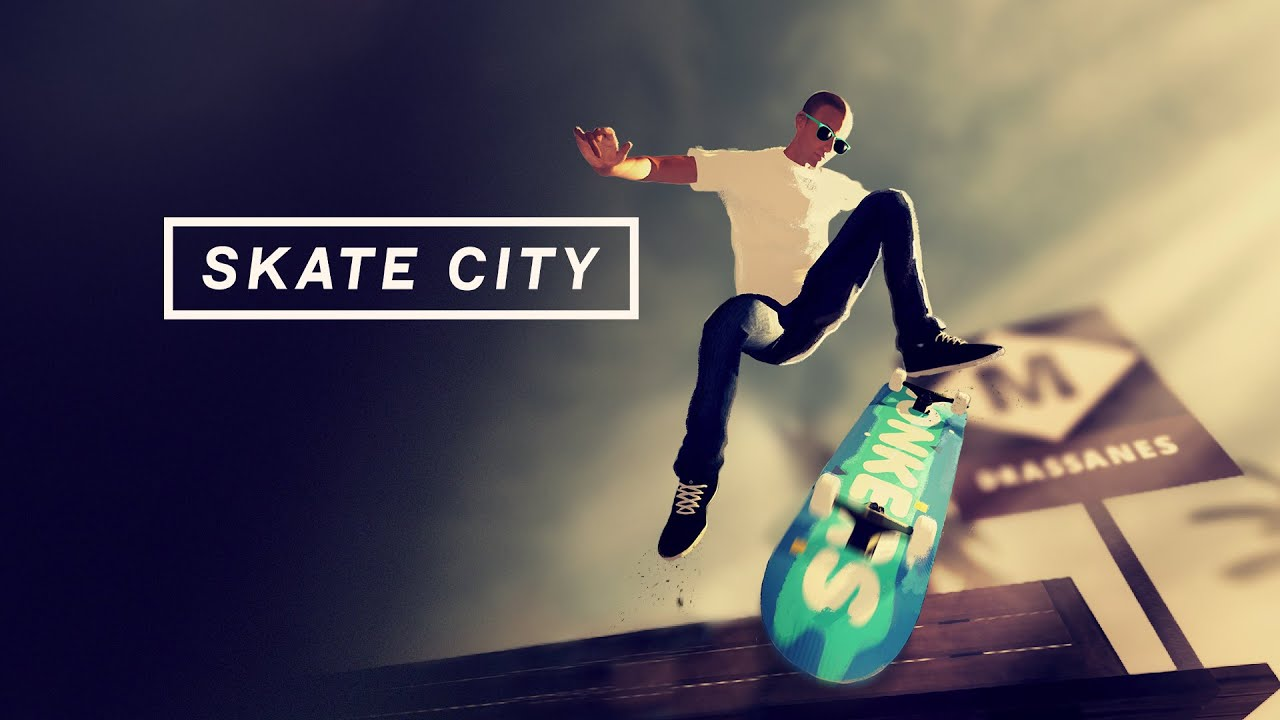 SKATE CITY IS AVAILABLE ON PC AND CONSOLES TODAY!