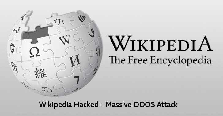 Wikipedia Hacked  - wikipedia 2Bhacked - Wikipedia Hacked – Massive DDOS Attack Take Down the Website
