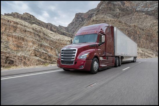 New Freightliner Cascadia