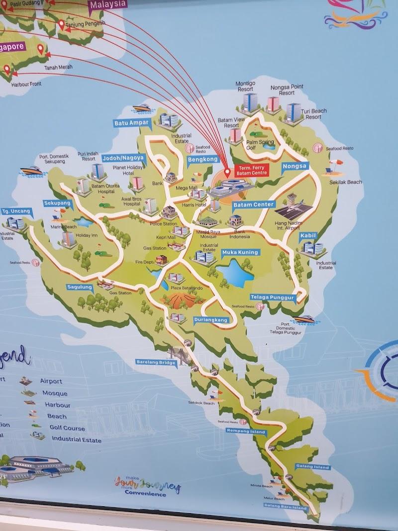 Pulau Batam, Indonesia - Sepintas Lalu