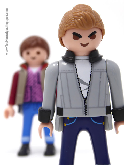Biff Tannen y Marty Mc Fly Playmobil Volver al Futuro - Calendario de Adviento (Playmobil Back To The Future - Calendario de Adviento)