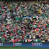 tim israel kalah, ribuan fans Glasgow Celtic melambaikan bendera Palestina