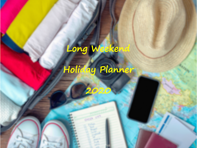 Long Weekend Holiday Calendar