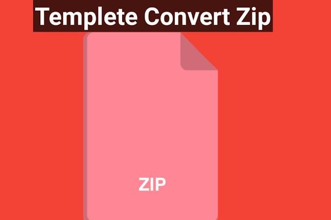 Blogger Template Ko Zip File Se XML File Me Kaise Convert Kare