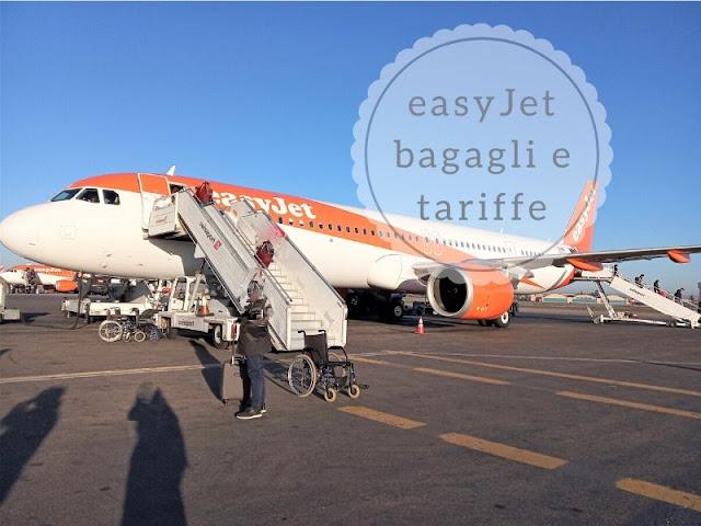 easyjet: le regole per il bagaglio
