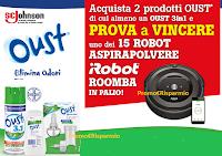 Vinci il Robot Aspirapolvere Roomba con OUST : 15 premi in palio