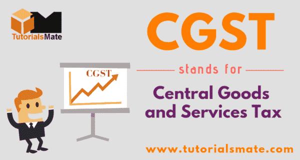 CGST Full Form