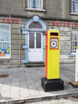Things to do near Athlone: Historic petrol station in Birr Ireland