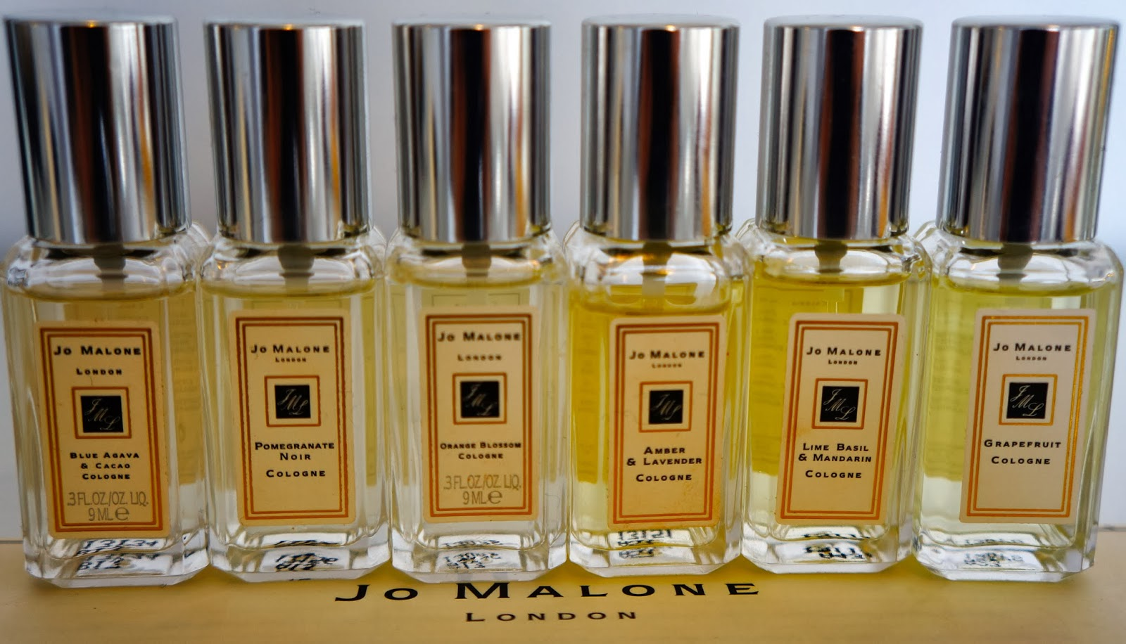 bonjourfashion jo malone perfume collection review. Black Bedroom Furniture Sets. Home Design Ideas