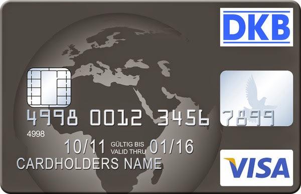 Kostenlos Bargeld beziehen mit der DKB Visa Kreditkarte