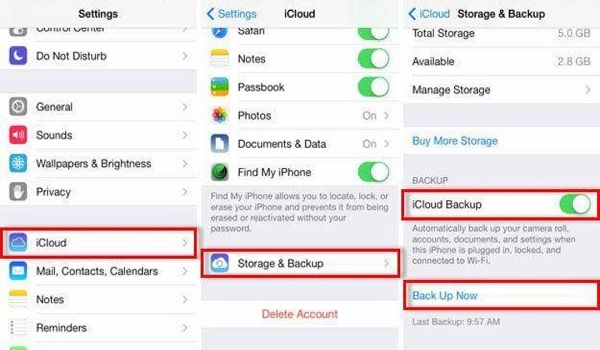 How to back up your iPhone or iPad throw iCloud and iTunes