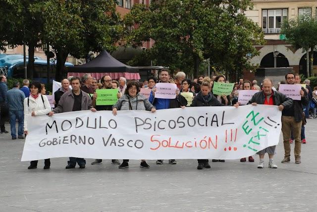 Convocan una manifestación el jueves 20 de mayo por el inminente cierre del Módulo de Salud Mental