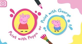 gioco Peppa Pig: Paintbox