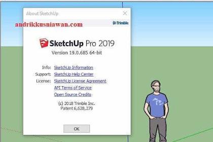 Cara Instal SketchUp 2019 Pro
