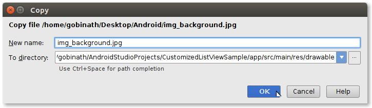 Android Customized ListView