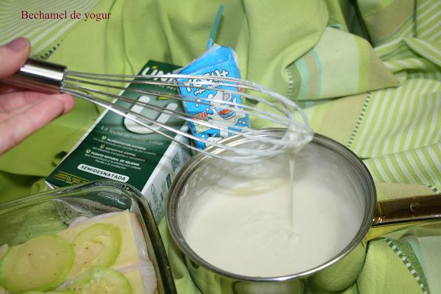 Bechamel de yogur  El Ágora de Ángeles