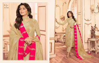 Lt Nitya vol 144 Silk Jacquard  Salwar Kameez Collection