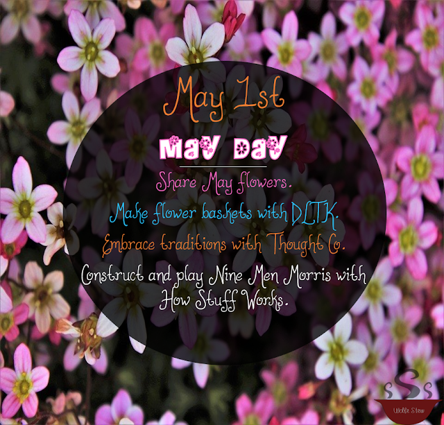 On May 1, 2020, engage your learners in May Day traditions.