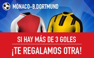 sportium Promocion champions Mónaco vs Dortmund 19 abril