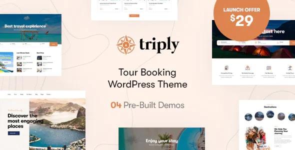 Best Tour Booking WordPress Theme