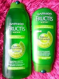 Garnier Fructis - szampon wzmacniający i odżywka