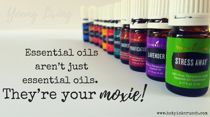 Essential oils are your moxie | Hot Pink Crunch