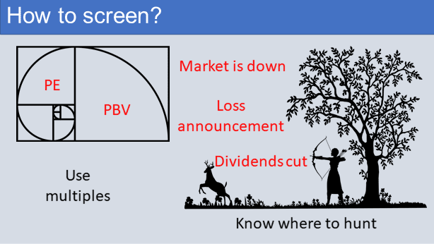How to screen?