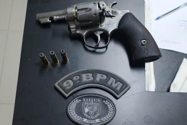 Em Batalha, Copes prende homem por porte ilegal de arma de fogo