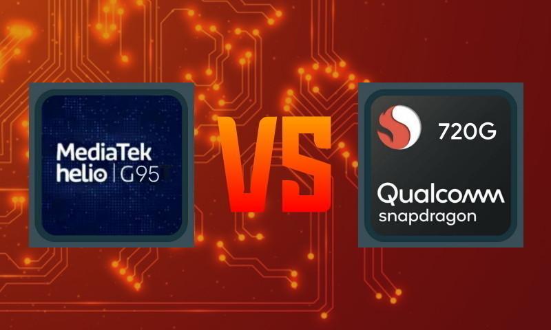 Perbandingan Helio G95 vs Snapdragon 720G
