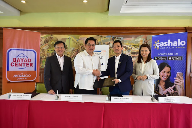 Cashalo empowers Filipinos by expanding repayment channels through Bayad Center| Benteuno.com